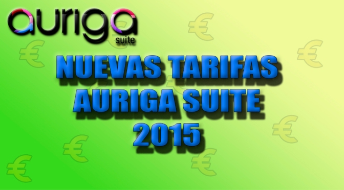 Nuevas tarifas 2015