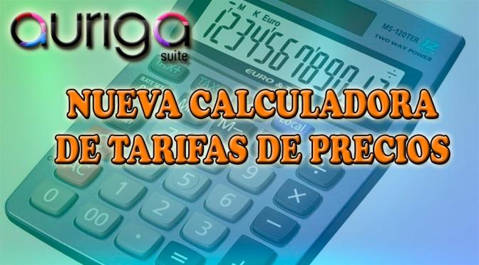 Calculadora de tarifas